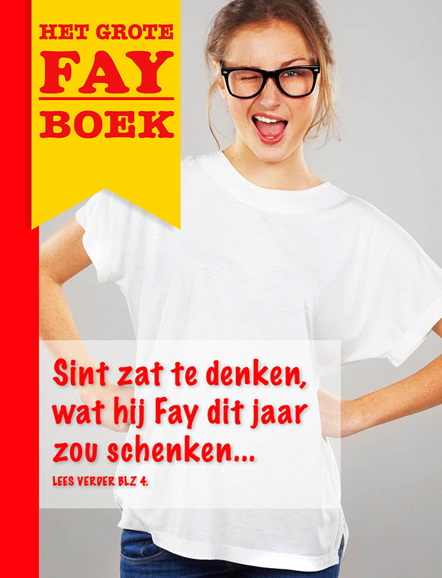 Magazine als Sinterklaas surprise
