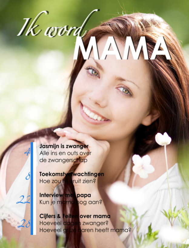 Babyshower magazine