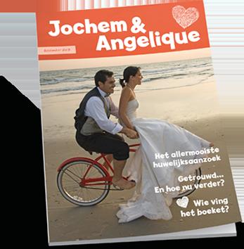 Tijdschrift voor huwelijk maken