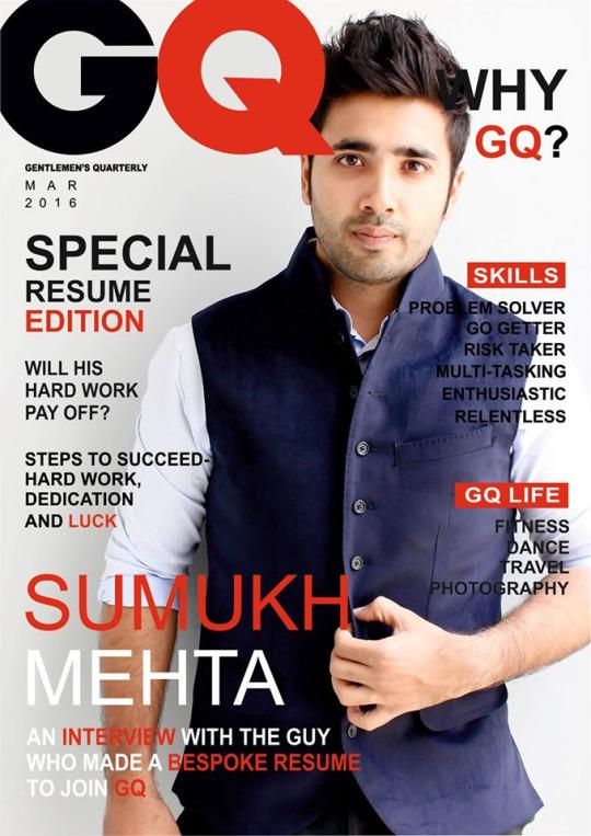 CV - GQ magazine