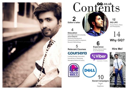 Magazine CV